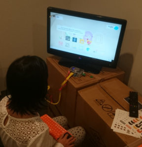 After running through the instructions, now exploring Kano OS